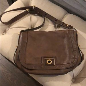 Brown leather Marc by Marc Jacobs purse.